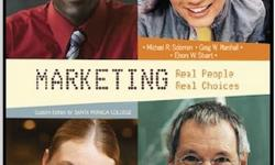 $80 Marketing: Real People, Real Choices 7th edition -