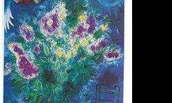 $80 Still Life with Flowers- Chagall - Limited Edition on