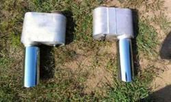$80 VR Racing Mufflers with Stainless Tips (Clio)
