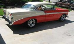 $85,000 Used 1956 Chevrolet Bel Air Sport Coupe, 100 miles