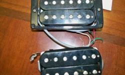 $85 2 Gibson les paul pickups !! CHEAPPPPPPPP (NW OKC)