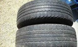 $85 2 Goodyear Fortera Radial tires 255/65R/18