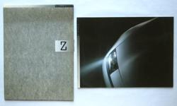 $85 Nissan Z Sales Brochure In Original Slipcase 1990 - Rare