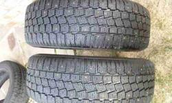 $85 Studded Tires 205 60 R15 Hankook Pair (Westminster)