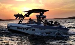 $86,900 2013 Malibu Wakesetter 247 LSV with SurfGate and