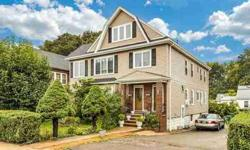 878 -880 Fellsway Medford Four BR, This meticulous home has