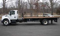 8849 - 2011 International 4300; 20' Steel Flatbed