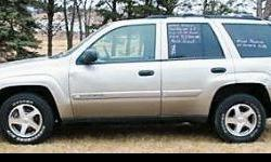 $8,000 2003 Chevrolet Trailblazer 73K 4WD Automatic ABS