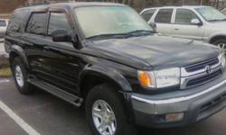 $8,000 TOYOTA 4RUNNER SR5, 4x4, BLACK, 1 PREV OWNER, HAS MD