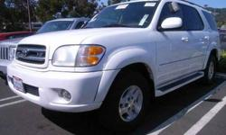 $8,491 2002 Toyota Sequoia Limited
