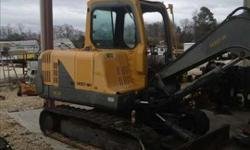 $8,500 Used 2007 Volvo EC55B for sale.