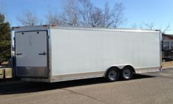 8.5 x 24 Trailer with Hauling Gear. Over $8600 Invested