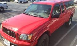 $8,999 TOYOTA Tocoma Pre-Runner 2WD Red 125K