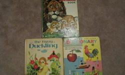 "$8 Great Children Big Books. 12 3/4"" x 9 1/2"" Copyrights"