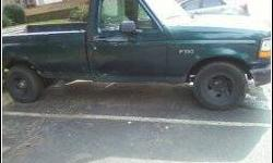 $900 1994 ford f150 green