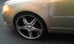 $900 22'' Inch Forte Legend Chrome Rims for Sale with
