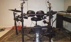 $900 Alesis dm10 studio electronic kit + accessories