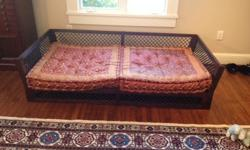$900 Wood and Iron Moroccan Daybed
