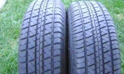 $90 2 used P195/75R14 enduro runway all seasons