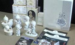 $90 6 Precious Moments Porcelain Figurines & Accessories