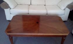 $90 Coffee table and end table