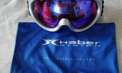 $90 Riva Goggles by Haber Brand New