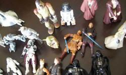 $90 Star Wars figures/ships