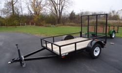 $950 5x8 UTILITY TRAILER MICHIGAN MADE!