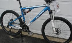 $950 Jamis XC Comp full suspension mountain bike - 19 inch