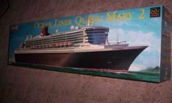$95 Revell Queen Mary 2 Model Kit Scale 1:400 (Seminole, OK)