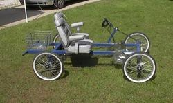 $975 2 Seat Rhoades Car 4 Wheel Bike