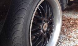 $980 19 inch rims five lug deep dish with low pro tires