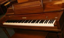 $995 Baldwin Acrosonic Piano, Walnut Finish, Great Condition
