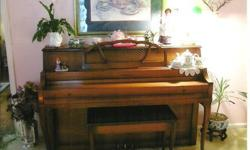 $995 Schomacker Console Piano in Excellent Condition