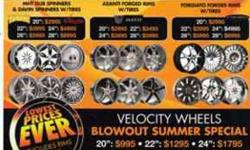 "$999 20"" Chrome rims and tires specials"