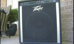 $99.99 Very Loud Peavey Bass Amp