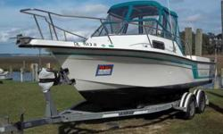 $9,500 1993/2003 Merc Cruisers 23' Fish Hawk-Celebrity