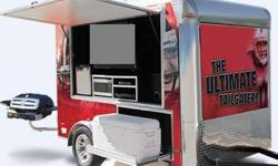 "$9,500 2012 Ultimate Tailgater Trailer with 42"" TV, Fridge,"