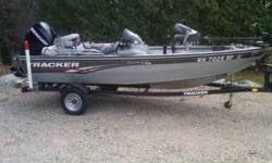 $9,500 Used 2010 Tracker V15' Pro Guide Aluminum for sale.
