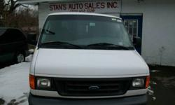 $9,600 2006 Ford E250 Cargo Van-Very Clean