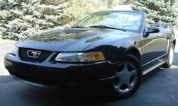 $9,700 2000 Ford Mustang Gt Convertible Black