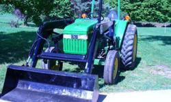 $9,750 OBO JD 1070 Tractor with Bush Hog 2245QT Loader