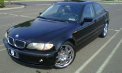 $9,800 2004 BMW 325i w/19 inch BMW E46 M3 Wheels
