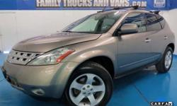 $9,988 2003 Nissan Murano SL 4x4 One Owner
