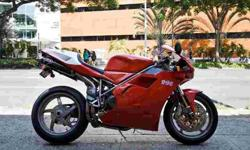 $9,995 2001 Ducati 996 - Only 3,133 Miles!