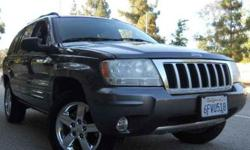 $9,997 Used 2004 Jeep Grand Cherokee for sale.