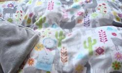 Alpaca Fleece Stuffed Baby Blankets