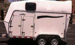 am.2007 Brenderup Baron TC 2 Horse Trailer