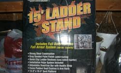 AMERISTEP 15' LADDER TREE STAND New in Box