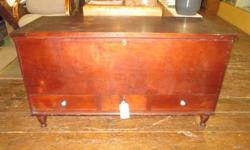 Antique Blanket Chest w/ 3 Drawers